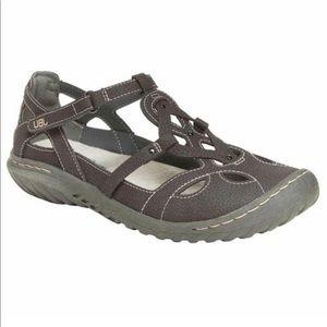 Jambu JBU Sydney Sandals Memory Foam Velcro